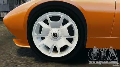 Lamborghini Miura 2006 para GTA 4 vista lateral
