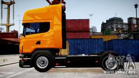 Scania R500 para GTA 4 left