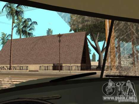 ZIL 131 camión para la vista superior GTA San Andreas