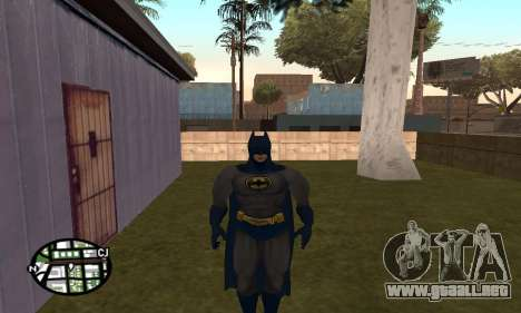 Dark Knight Skin Pack para GTA San Andreas octavo de pantalla