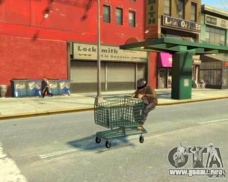 Carretilla para GTA 4 visión correcta