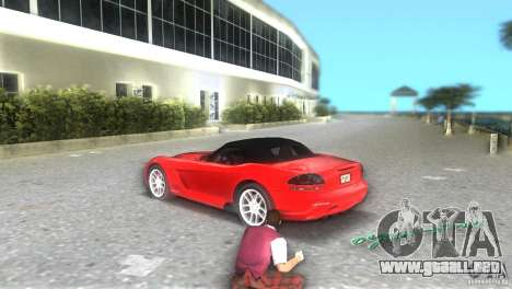 Dodge Viper SRT 10 Coupe para GTA Vice City vista lateral izquierdo