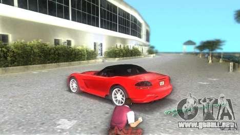 Dodge Viper SRT 10 Coupe para GTA Vice City vista lateral izquierdo