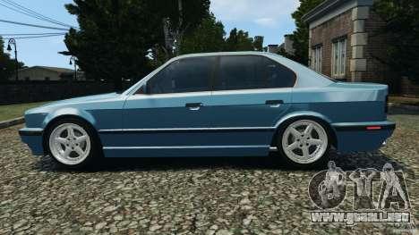 BMW E34 V8 540i para GTA 4 left
