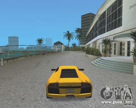 2005 Lamborghini Murcielago para GTA Vice City vista lateral izquierdo