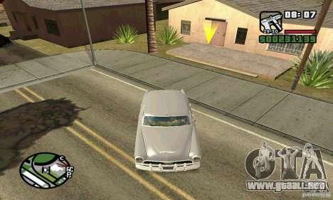 Houstan Wasp (Mafia 2) para GTA San Andreas vista hacia atrás
