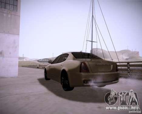 ENBseries by slavheg v2 para GTA San Andreas sucesivamente de pantalla