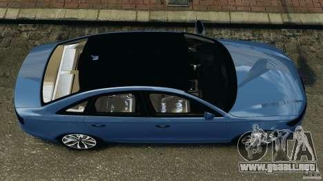 Audi A6 para GTA 4 visión correcta