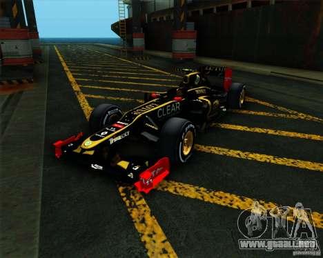 Lotus E20 F1 2012 para GTA San Andreas