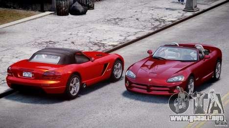 Dodge Viper SRT-10 2003 1.0 para GTA 4 vista lateral