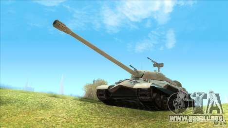 IS-7 Heavy Tank para GTA San Andreas left