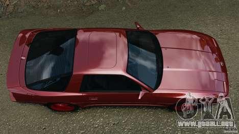 Toyota Supra 3.0 Turbo MK3 1992 v1.0 [EPM] para GTA 4 visión correcta