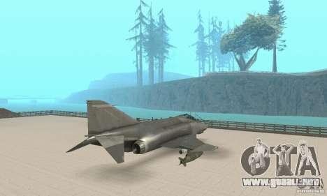 F-4E Phantom II para GTA San Andreas left