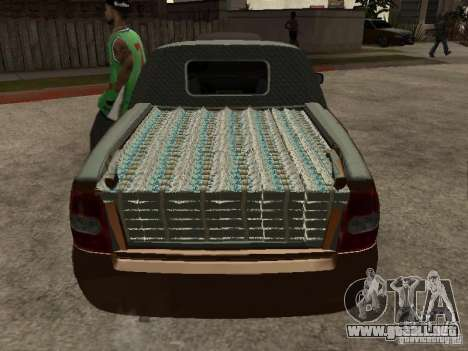 LADA 2170 Pickup para vista lateral GTA San Andreas
