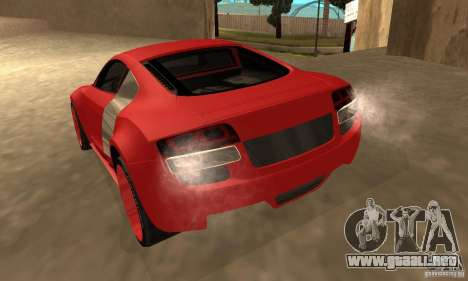 Audi R8 Custom para GTA San Andreas left