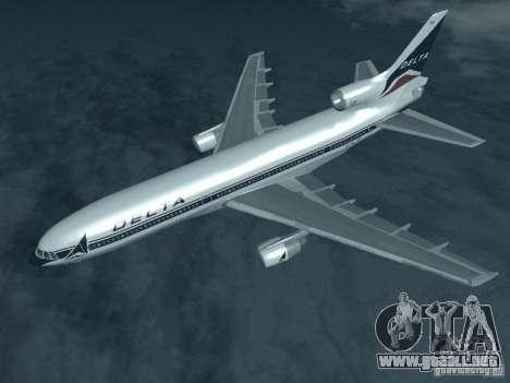 L1011 Tristar Delta Airlines para GTA San Andreas
