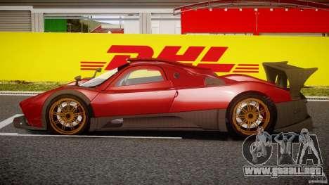 Pagani Zonda R para GTA 4 left