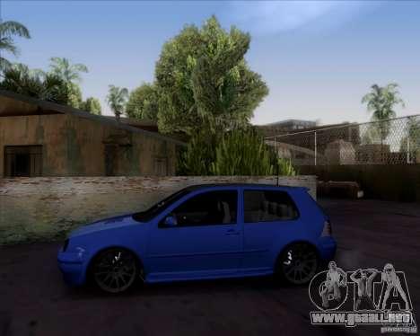 Volkswagen Golf GTi 2003 para la visión correcta GTA San Andreas
