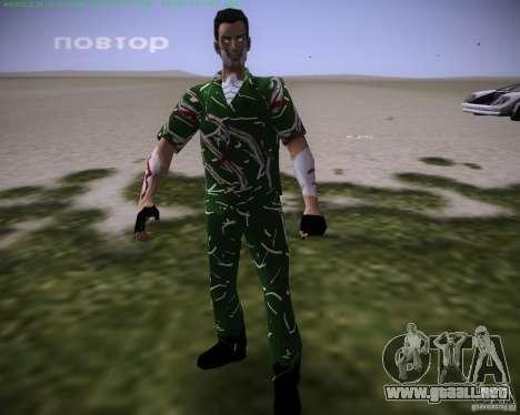 La piel se revela para GTA Vice City sucesivamente de pantalla