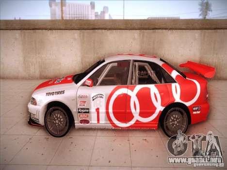 Audi S4 Galati Race para GTA San Andreas left