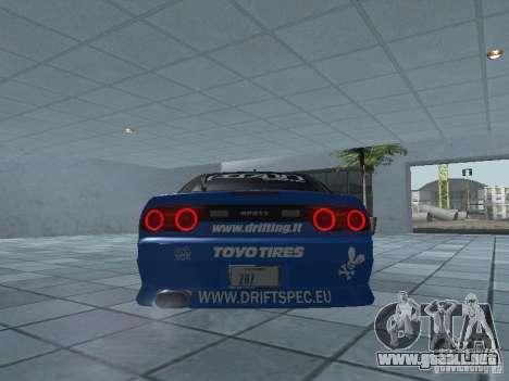 Nissan RPS13 Drift Spec para la visión correcta GTA San Andreas