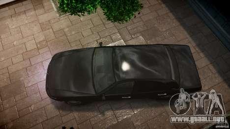 Washington FBI Car para GTA 4 visión correcta
