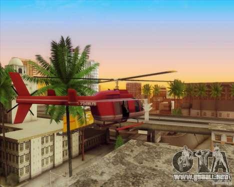 SA_Mod v1.0 para GTA San Andreas segunda pantalla