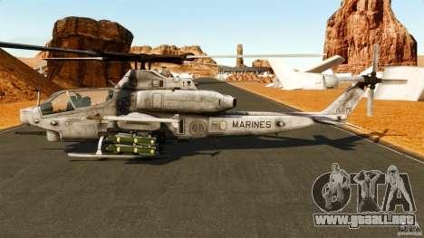 Bell AH-1Z Viper para GTA 4 left