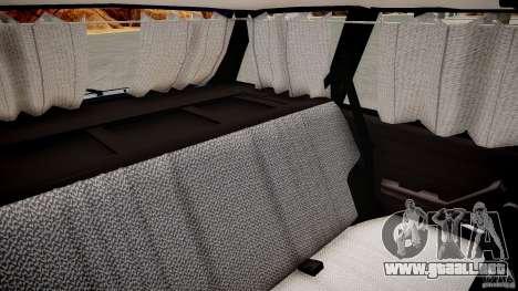 VAZ 2104 Final Fix (sin tonificación) para GTA 4 vista interior