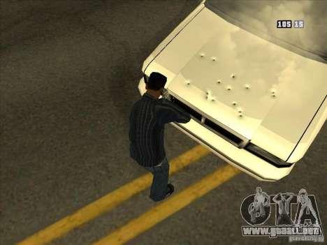Agujeros de las balas para GTA San Andreas sucesivamente de pantalla