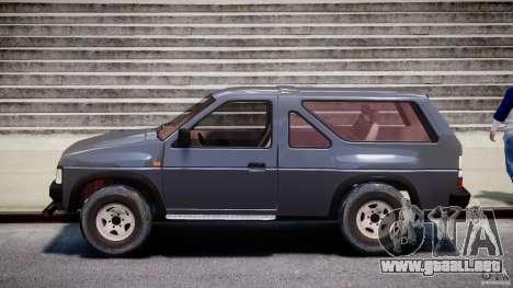Nissan Terrano para GTA 4 left