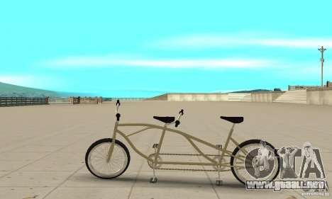 double classic MT Bike para GTA San Andreas left