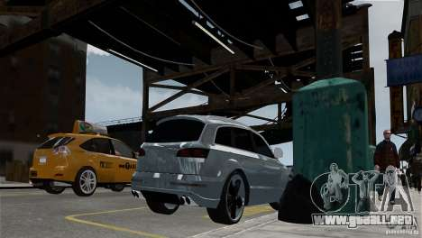 Audi Q7 para GTA 4 visión correcta