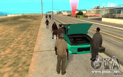 El patrón de diapositivas para GTA San Andreas tercera pantalla