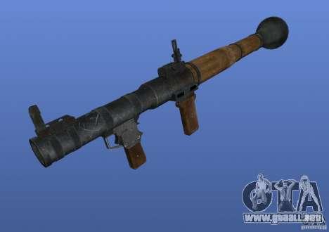 Weapon Textures para GTA 4 tercera pantalla