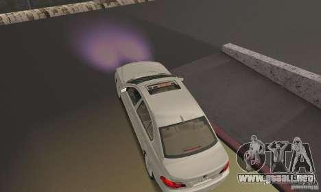 Luz púrpura para GTA San Andreas