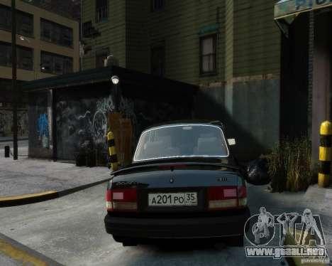 Volga GAZ 3110 para GTA 4 left