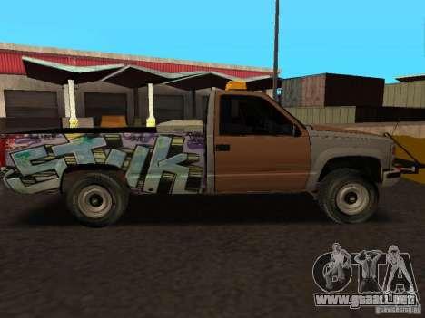 Chevrolet Silverado para GTA San Andreas left