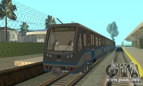 Tren Rusich 4 para GTA San Andreas left