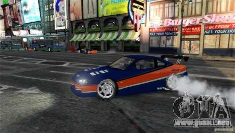 Nissan Silvia S15 Tokyo Drift para GTA 4 vista interior