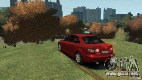 Mazda 6 MPS para GTA 4 left