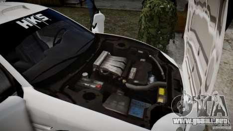 Mitsubishi 3000GT ST para GTA 4 vista hacia atrás