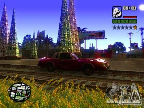 Timecyc BETA 2.0 para GTA San Andreas