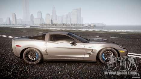 Chevrolet Corvette ZR1 2009 v1.2 para GTA 4 vista lateral
