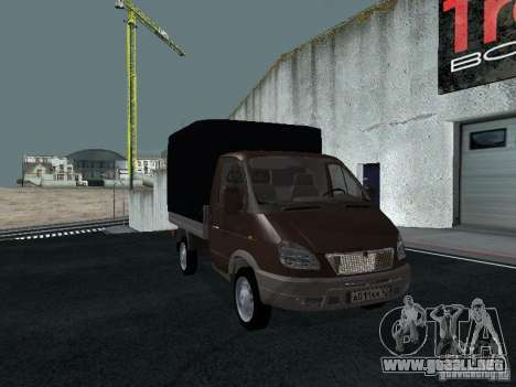 A bordo del GAS Sable 2310 para GTA San Andreas