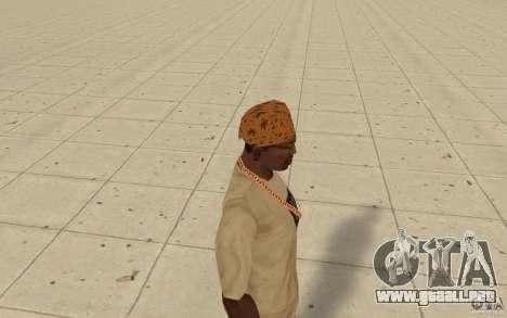 Bandana maryshuana para GTA San Andreas segunda pantalla