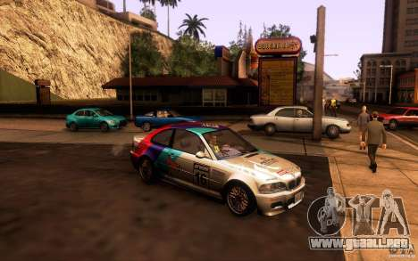 BMW M3 E46 para GTA San Andreas interior