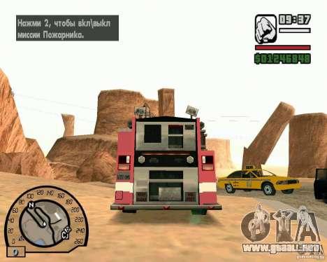 IV High Quality Lights Mod v2.2 para GTA San Andreas segunda pantalla