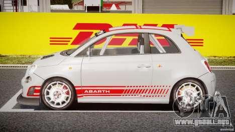 Fiat 500 Abarth para GTA 4 vista interior