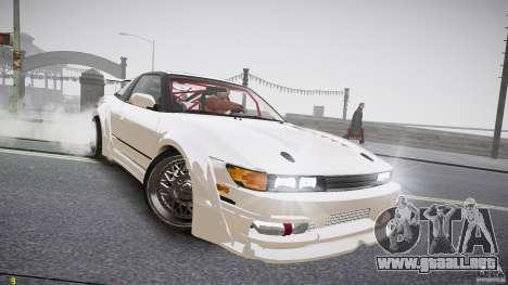 Nissan Sileighty para GTA 4 visión correcta